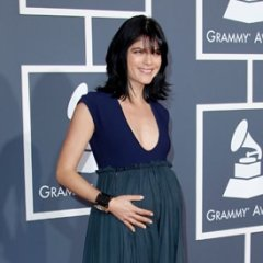 Selma Blair Shows Off Her Baby Bump at the Grammy Awards