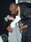 Kobe Bryant with his daughter