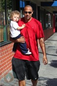 Hank Baskett Sr and jr