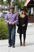 Rachel Zoe and Roger Berman