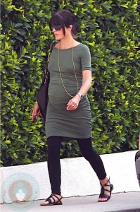 An Expectant Selma Blair out in LA
