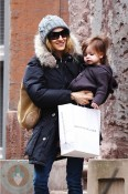 Sarah Jessica Parker with daughter Marion Broderick
