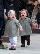 Sarah Jessica Parker's daughters Tabitha and Marion
