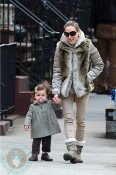 Sarah Jessica Parker with daughter Marion