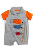 Disney, It's a Small World Koi Fish Shortalls (Infant)