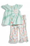 Disney, It's a Small World Flutter Sleeve Top & Leggings (Infant)