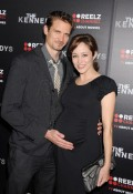 "Autumn Reeser and husband Jesse Warren attend ""The Kennedys"" World Premiere"