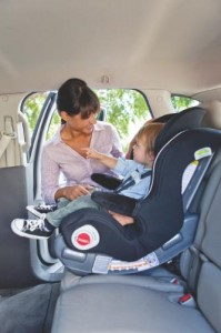 Graco SmartSeat Installed