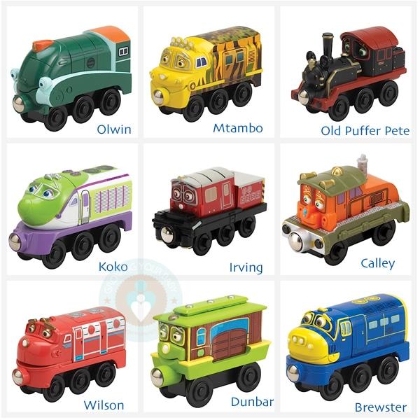 chuggington wooden railway trains 2