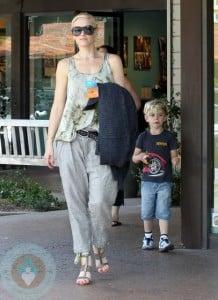 Gwen Stefani with son Kingston