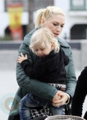 Gwen Stefani with son Zuma