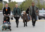 Gwen Stefani and Gavin Rossdale with sons Zuma and Kingston