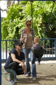 Rebecca Gayheart with husband Eric Dane and daughter Billie