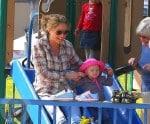 Rebecca Gayheart and daughter Billie