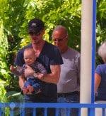 Eric Dane and daughter Billie