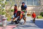 Naomi Watts and Liev Schrieber stroll with sons Sammy & Sasha