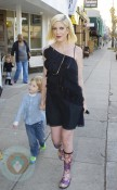 Tori Spelling with son Liam McDermott