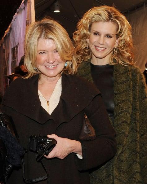 Martha And Alexis Stewart