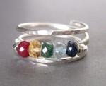 Mu-Yin Jewelry- Family Birthstone Ring