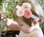 Pretty Baby Bowtique - Headband Pink