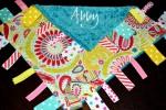 Sunfire Creative - Personalized Tag Lovey w Paci Clip