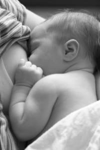 breastfeeding baby