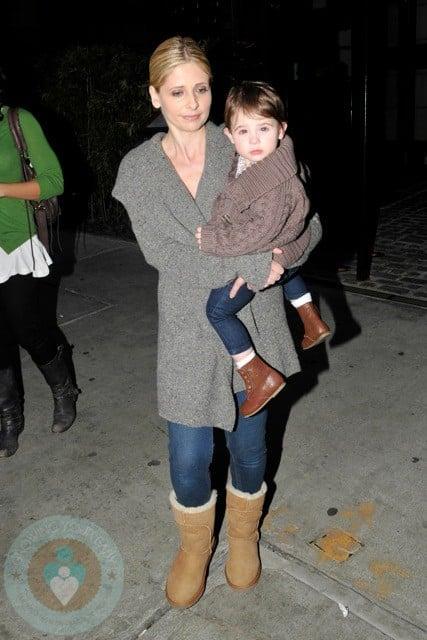 Sarah Michelle Gellar & daughter Charlotte in NYC