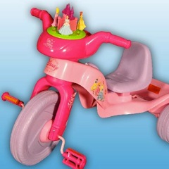 RECALL: 9,700 Kiddieland Disney Princess Plastic Trikes Due to Laceration Hazard