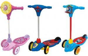 Recalled Kiddieland Lights and Sounds Children's Scooters