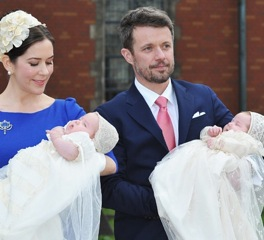 The Danish Royal Twins Are Christened Prince Vincent and Princess Josephine!