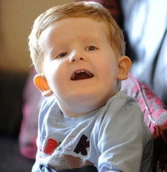 Two year old Alfie, First in the World with an Extra Strand of DNA