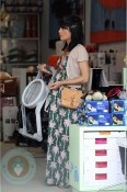 A pregnant Selma Blair Shopping for baby!