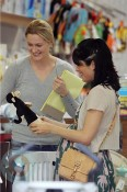 A pregnant Selma Blair Shopping for baby!
