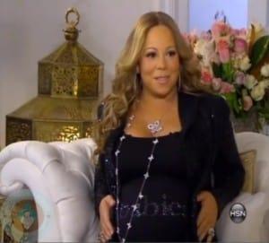 A Pregnant Mariah Carey on HSN
