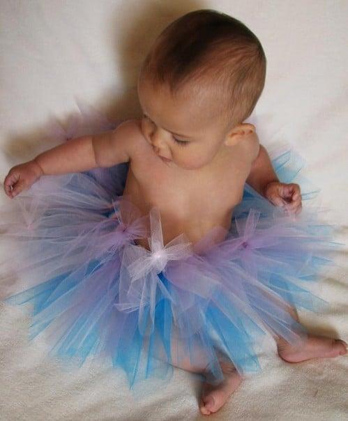 Baby Blush Boutique - Fairy Blue Blush Tutu