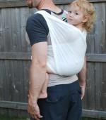 Baby Ette - Soft White BabyEtte Woven Baby Wrap