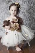 BabyJCouture - Floral Splendor Tutu Outfit