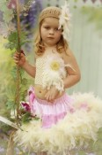 BabyJCouture - Maribou and Chandelle Feather Pettiskirt