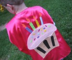 Babypop Designs - Kids Childrens Birthday Custom Cape