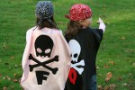 Babypop Designs - Pirate Kid Cape Costume