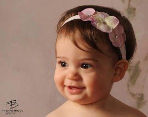 Celeste & Company - Triple Dainty Flowered Headband - Babies, Infants and ToddlersFrom CelesteandCompany