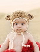 Citefuzz - Cotton Mini Monkey Flap Hat