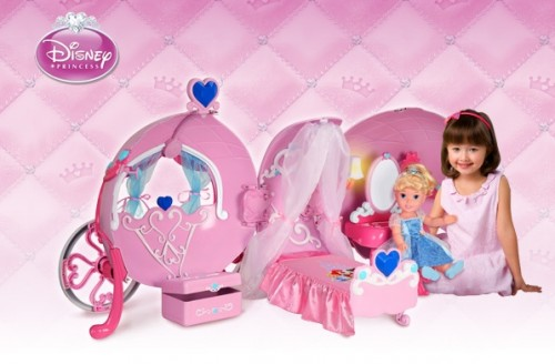 Kid Tested Disney Carriage Play Center