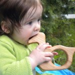 Eco Tot Toys - Organic Maple Wood Duck Baby Teething Toy