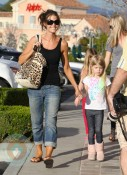 Denise Richards and daughter Lola