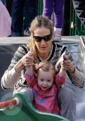 Sarah Jessica Parker with daughter Tabitha Broderick