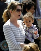 Ellen Pompeo and daughter Stella Luna