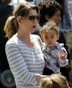 Ellen Pompeo and daughter Stella Luna