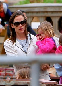 Jennifer Garner on the farm with daughter Seraphina