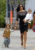 Camila Alves with daughter Vida and son Levi McConaughey